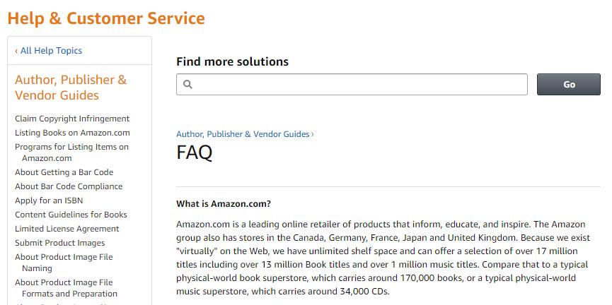 ওয়েবসাইটে FAQ (Frequently Asked Question)